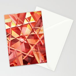 3D folded abstract Stationery Cards