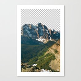 Transparencia Canvas Print