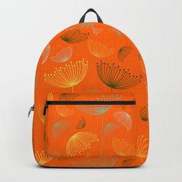 Mid-Century Modern Art Umbrella Flowers 1.4 Backpack