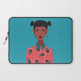 Hairbuns & PrintShirts Laptop Sleeve