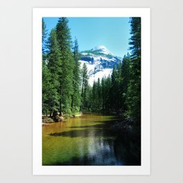Yosemite Valley Art Print