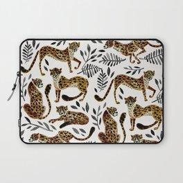 Cheetah Collection – Mocha & Black Palette Laptop Sleeve