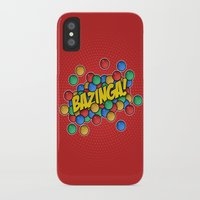 bazinga iPhone & iPod Cases featuring Bazinga! by Skeleton Jack
