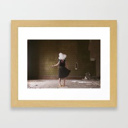 The World Without Framed Art Print