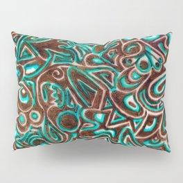 Jack Turquoise/Brown Pillow Sham