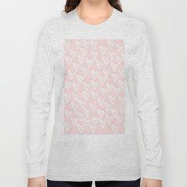 White hearts Long Sleeve T-shirt