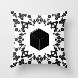PIXELATTACK! Throw Pillow