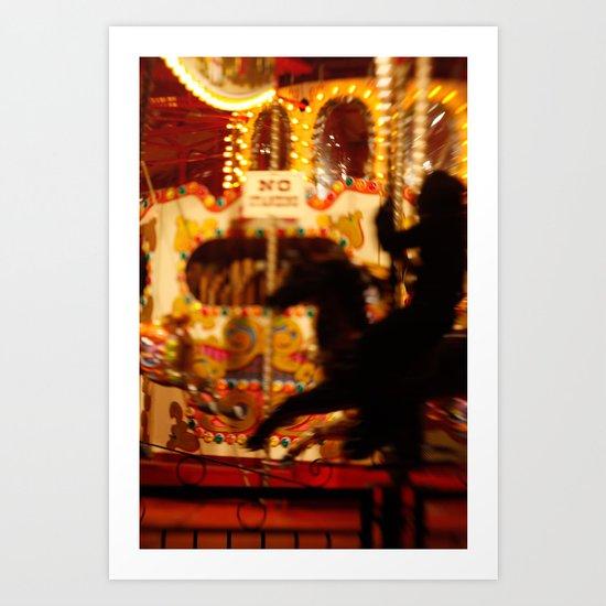 The Rides, The Rider Art Print