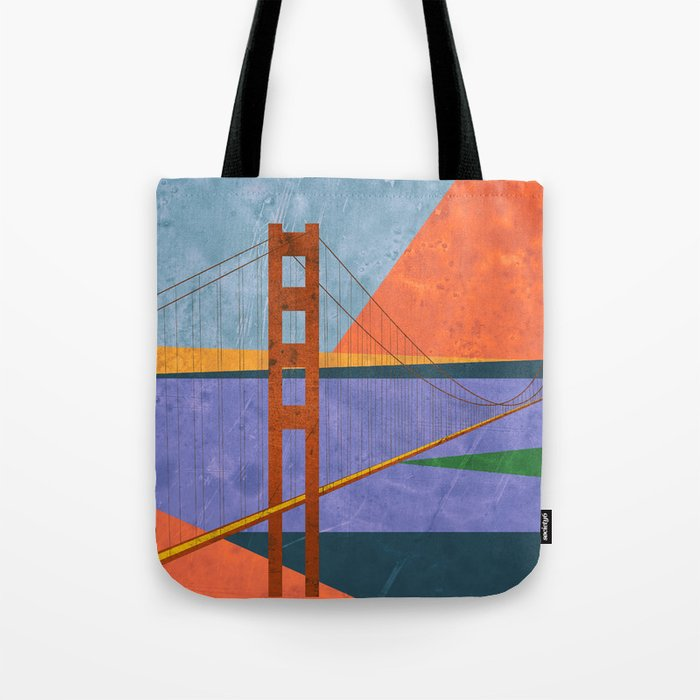 Golden Gate Bridge II Tote Bag