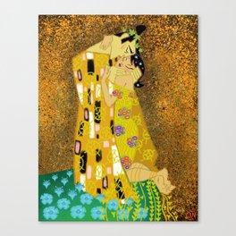 The Samurai Kiss Canvas Print