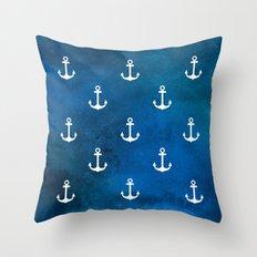 Little Anchors Throw Pillow