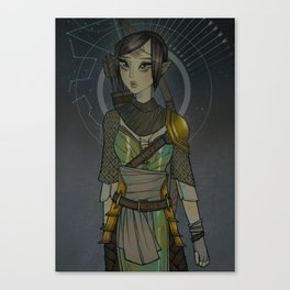 Warden Mahariel Canvas Print