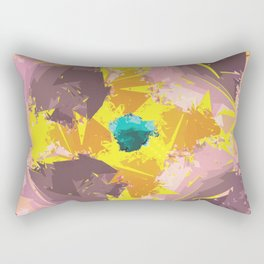 Colorful Abstract pattern design Rectangular Pillow