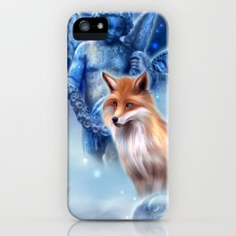 Spirit of the Fox iPhone Case