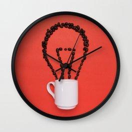 Coffee idea Wall Clock
