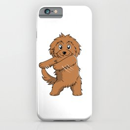 Flossing Goldendoodle Floss Dance  iPhone Case