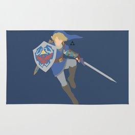 Link(Smash)Blue Rug