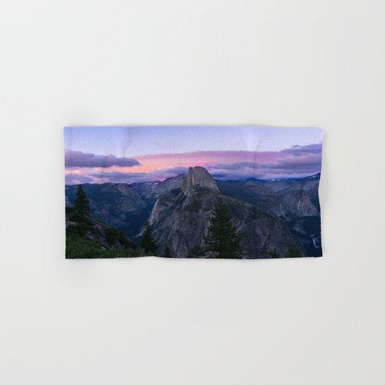 Yosemite National Park at Sunset Hand & Bath Towel