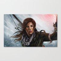 megan lara Canvas Prints featuring Lara  by Lara Cremon