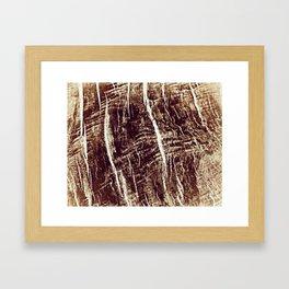 old wood texture Framed Art Print