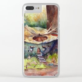 House in a turtleshell Clear iPhone Case