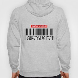 No Touching Expensive Item Hoody
