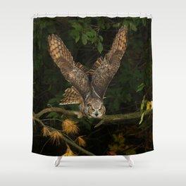On My Radar Shower Curtain