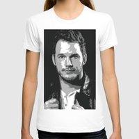 starlord T-shirts featuring Chris Pratt Poster by watsonedsherlock