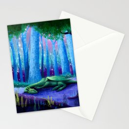 The Sleeping Dragon Stationery Cards