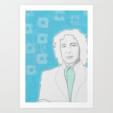 8th Doctor Art Print