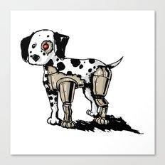 Dalmationator Canvas Print