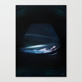 Ellen Ripley Alien fan art Canvas Print