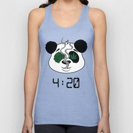 4:20 Panda (4/20 Edition) Unisex Tank Top
