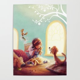 Snow White and the Seven Doggies Poster
