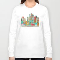 minneapolis Long Sleeve T-shirts featuring Minneapolis city  by bri.b