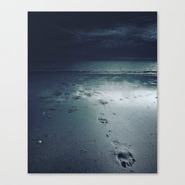 The Sea Is Nobody  Canvas Print