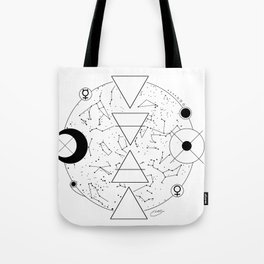 Celestial Alchemical Earth Tote Bag