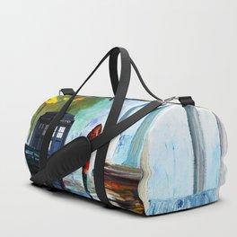 Tardis And The Girl Duffle Bag