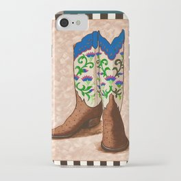 Cowgirl up! iPhone Case