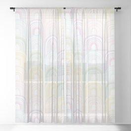 Rainbowland II Sheer Curtain