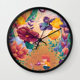 Late Bloomer Wall Clock