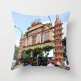 Orient Express 1 Throw Pillow