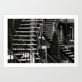 Chutes and Ladders Art Print