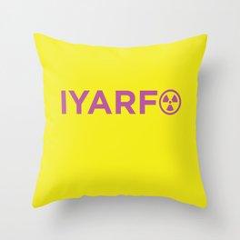 IYARFO Minimal Magenta Throw Pillow