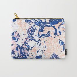 Abstract Marble Carry-All Pouch