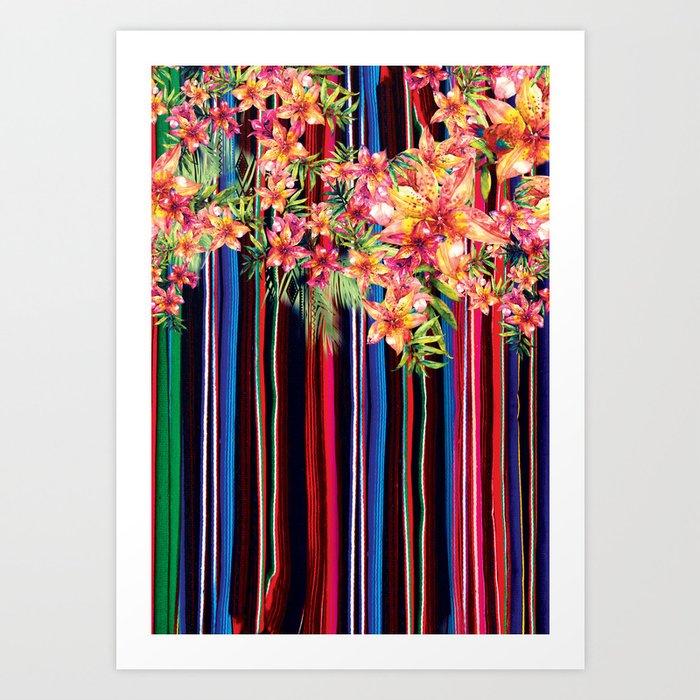 Florid Mexican Kunstdrucke