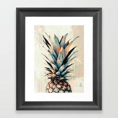 PINEAPPLE 3 Framed Art Print