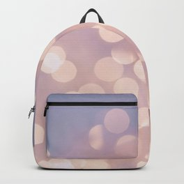 Light Pink Blurry Lights (Color) Backpack