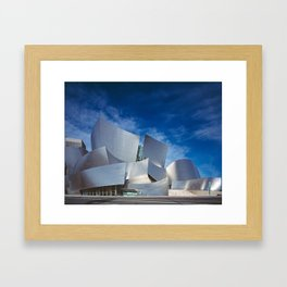 Los Angeles Concert Hall (Frank Gehry Architecture) Framed Art Print