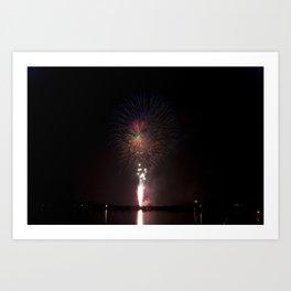 Fireworks make you wanna... (6) Art Print
